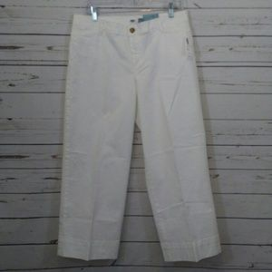 Old Navy wide leg crop pants nwt